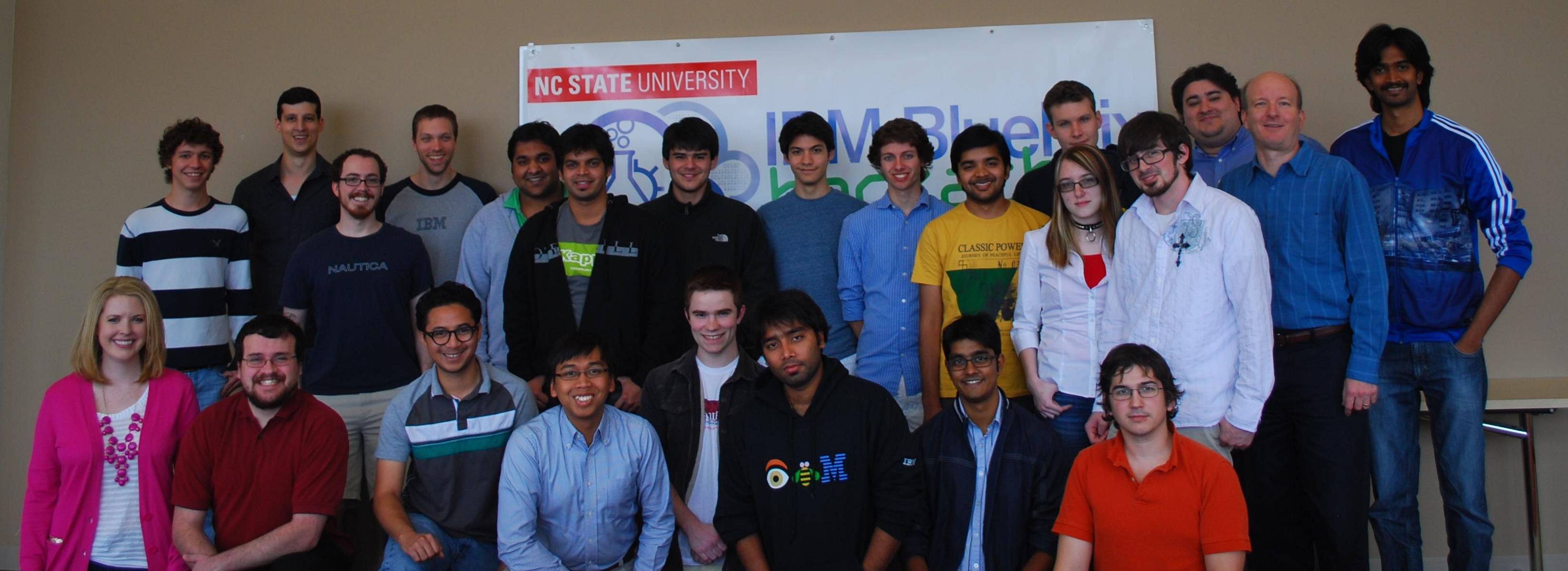The Hackathon Participants and the IBMers