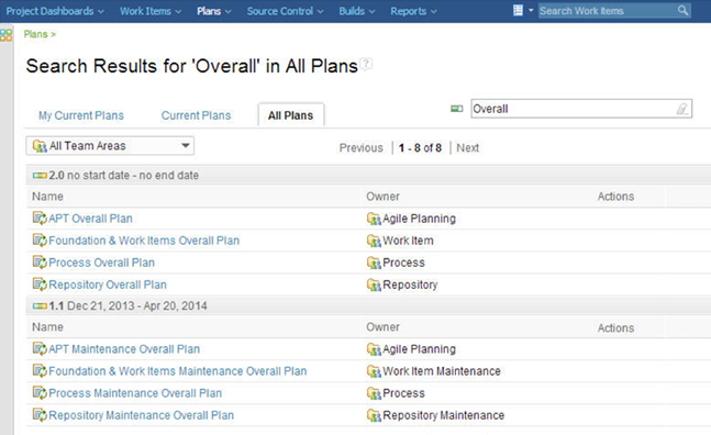 Search all plans