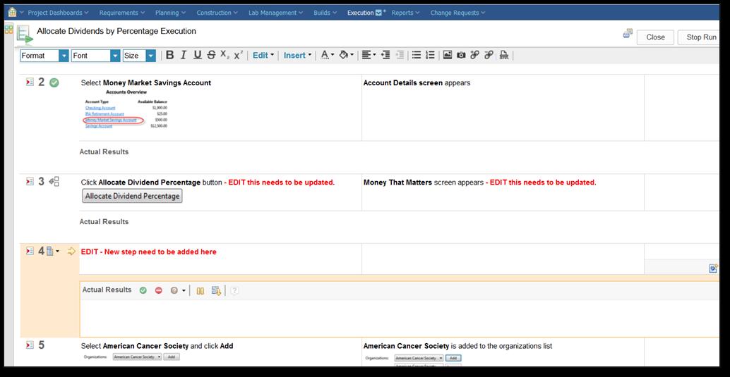 RQM 6.0.5 Redlining