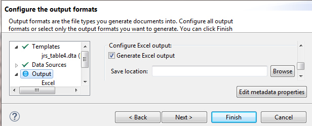 Generating Microsoft Excel documents