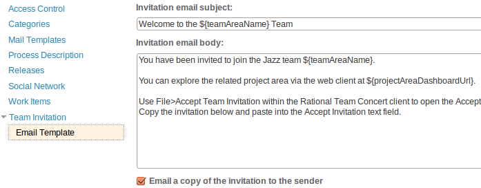 meeting invite email template - downloads ibm rational requirements composer