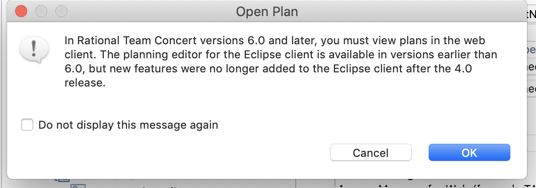 Anyone have RTC Eclipse client working on OSX Mojave? - Jazz