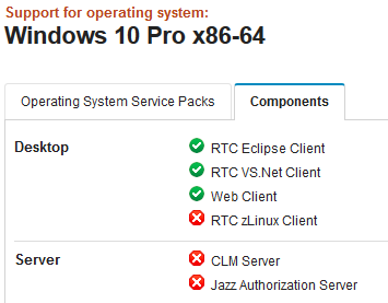can anyone tell me that is Windows 10 Pro is compatible with RTC 6 0