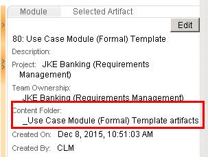 Module Content Folder