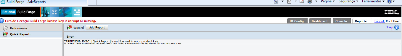 Quick Report Error