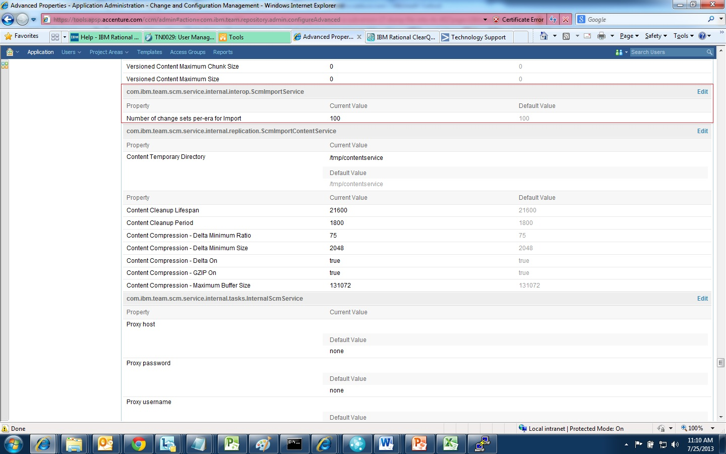 Svn validating admin areas of specialization