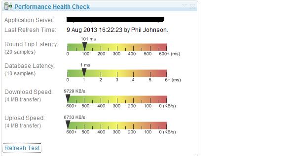 Perf Stats Screenshots