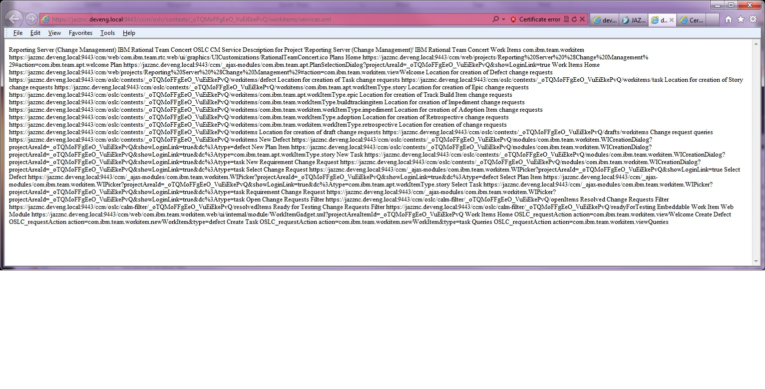 JAZZ logs warnings/errors - Jazz Forum
