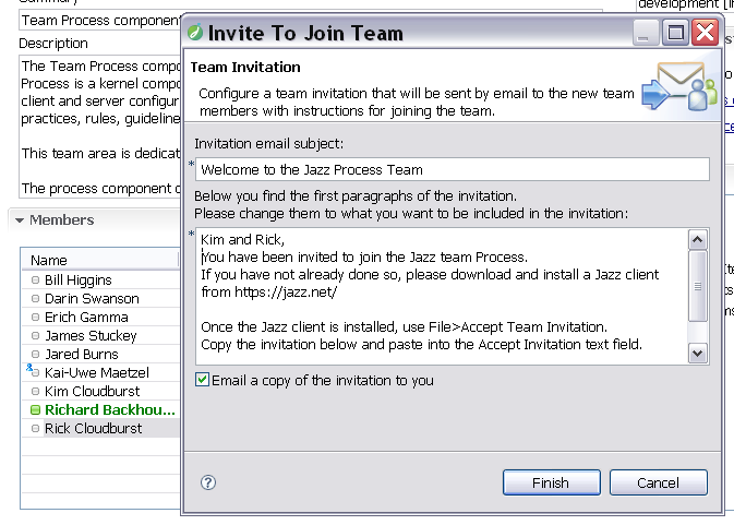 joining a team library articles jazz community site