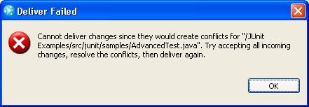Deliver error