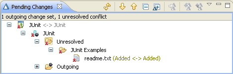 Conflict - two files with the same name and location were created