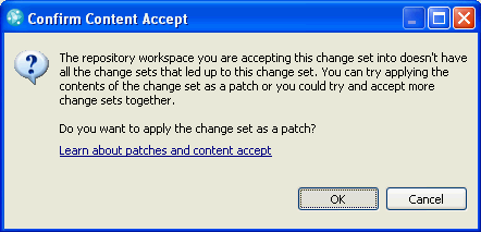 Apply As Patch Dialog