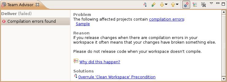 Prohibit compile errors