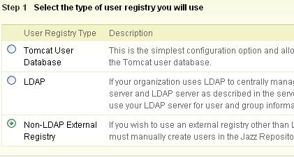 Non LDAP User Directory