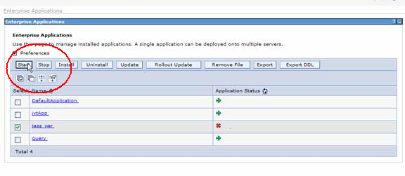 websphere application server health check