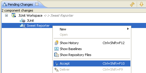 Option 2 : Accept component from vendor stream