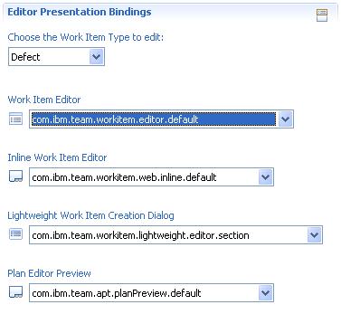 Editor Bindings
