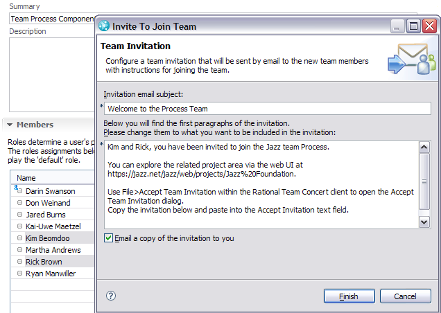 joining a team in rational team concert 2 0 library articles