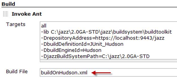 Enter build script name