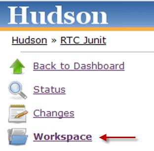 Build workspace button
