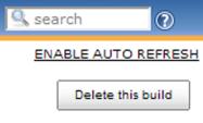 Hudson build delete button