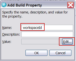 Add Build Property for repository workspace