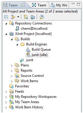 Figure 7.- Team Build artifacts