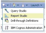 launch report studio