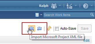 Import a project from Microsoft Project