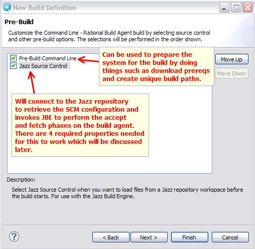 Build Agent Pre-Build Selection