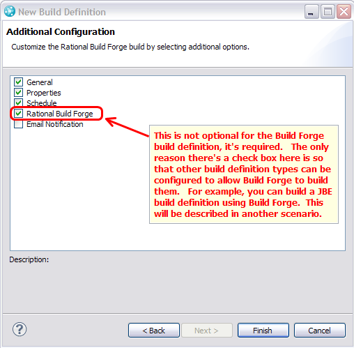 Additional Configuration in Build Definition