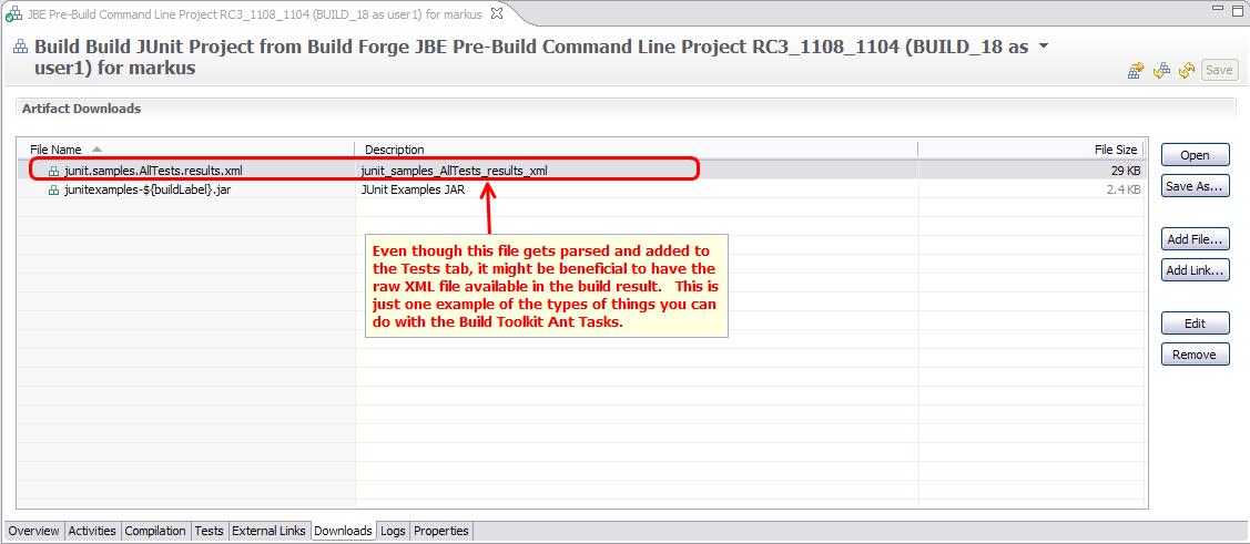 Build Result Downloads