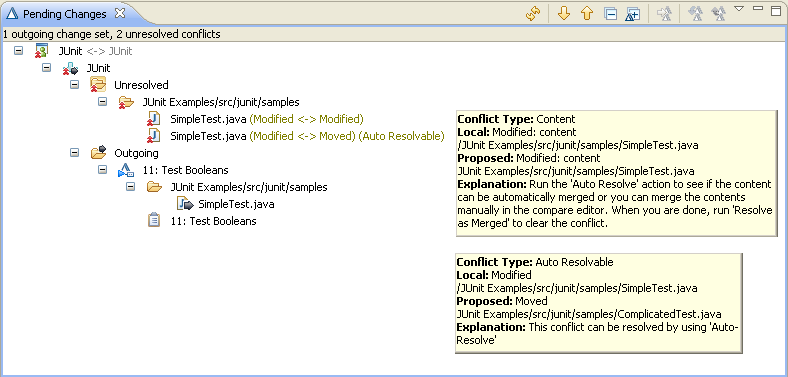 Conflicts Example