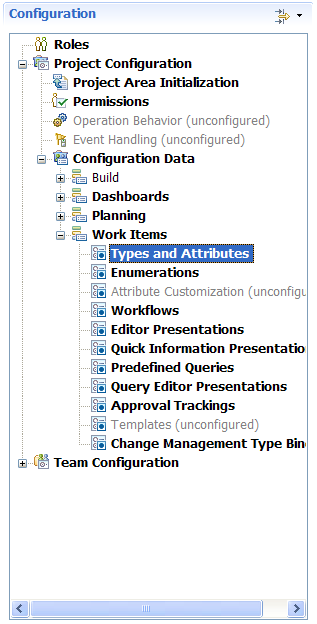 Work item customization in Eclipse UI in RTC 3.0