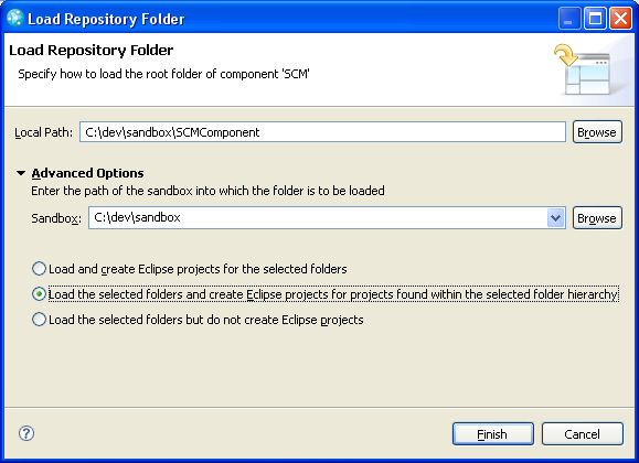 Load          As Component Root Folder