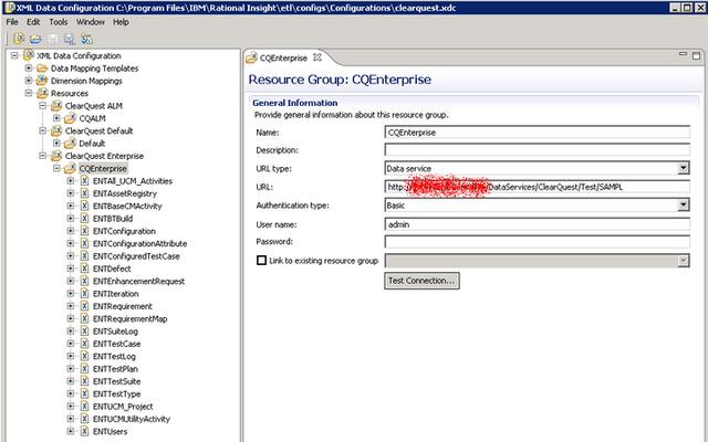 IBM ClearQuest XDC file