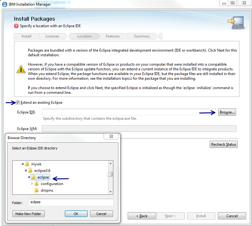 Install the Rational Team Concert client for Eclipse 3 0 1