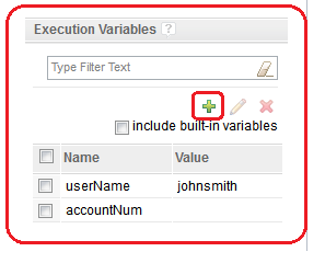 Execution Variables