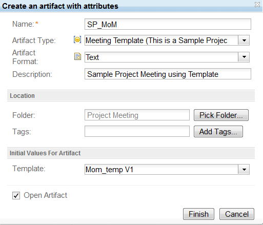using rational team concert and rational requirements composer for