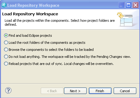 Load Eclipse Projects