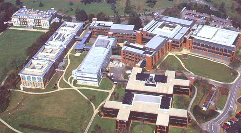 Hursley Laboratory from the air