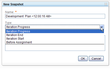 Customize Snapshot Types