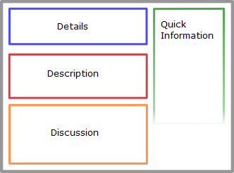 Overview Layout in the Web UI