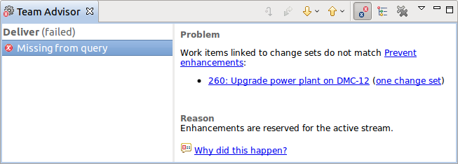 Query excluding enhancements