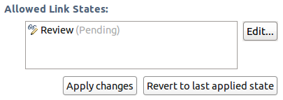 Allows linking to pending Reviews