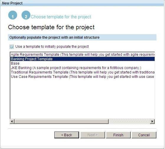 Banking Project Template screen capture