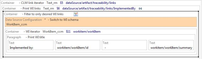 Filter ImplementedBy to only work items