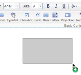 palette size on create example