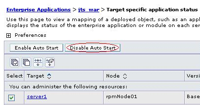 Disable Auto Start