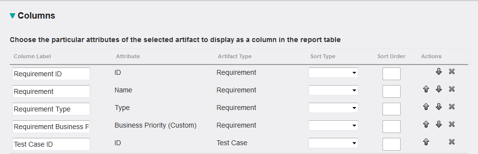 Query with custom attributes